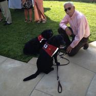 Love being a service dog