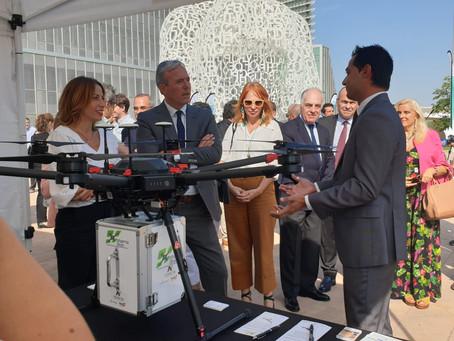 Delsat realizará el vuelo simulado del proyecto Pharmadron antes del Pilar
