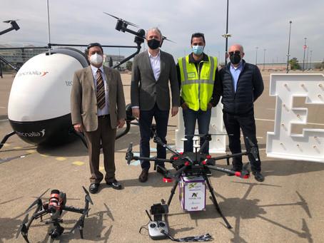 Zaragoza acogerá el primer espacio urbano de Europa para entrenar con drones