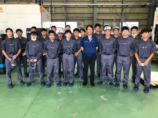 【NEWS】7月13日(火)「クニナリ工場見学」2年機械科キャリア教育!