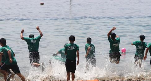 8月28日(金) 1学期最後の行事、「汐風祭」は最高の海日和の中、実施されました!7/22実施