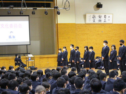 【NEWS】191名の新入生を迎え対面式と部活動紹介を行いました!