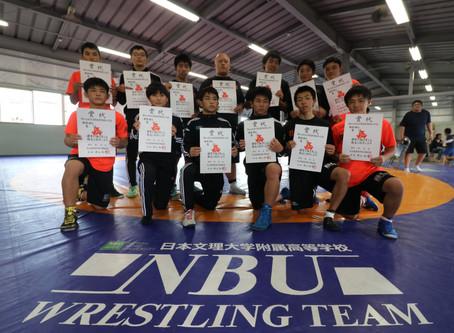 【大会結果】令和元年度大分県高等学校新人レスリング競技大会