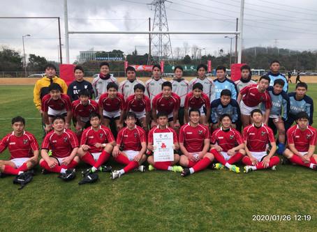 【大会結果】大分県ラグビー新人戦は、準決勝で大分東明高校に敗退し第3位!