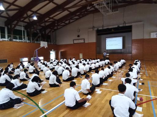 【NEWS】6月8日(火)、4月・6月に実施した実力考査の結果に対しての講演会を実施!