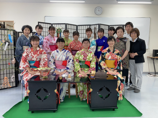 【NEWS】茶道部による七夕会が行われました。3年生にとっては最後の茶会となりました!