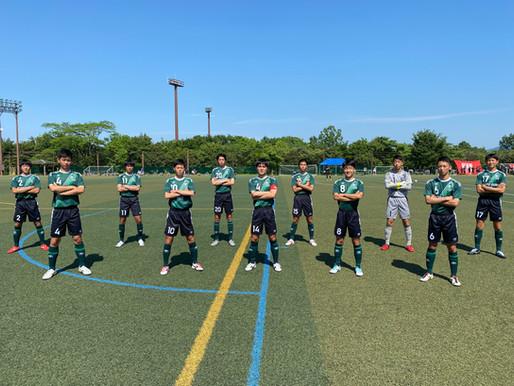 【県総体】サッカー部は、昨年度の県選手権決勝戦で対戦した大分高校に敗戦!