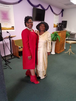 Pastor V and Ms. Queenie