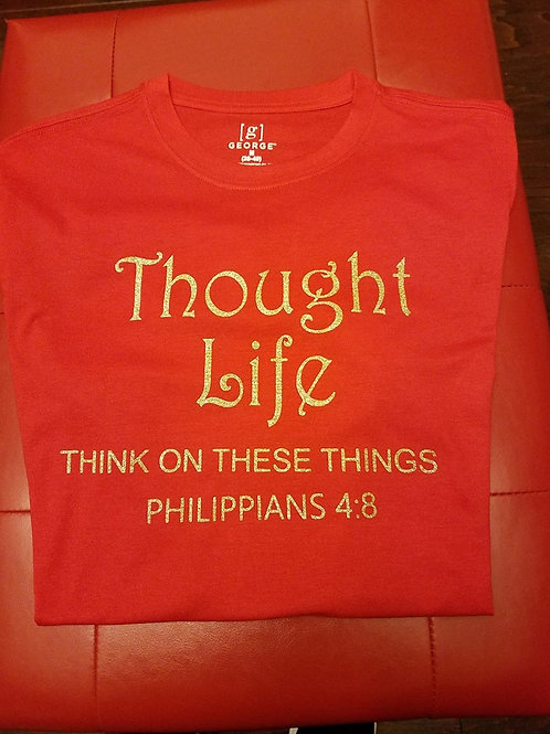 Thought Life Glitter T