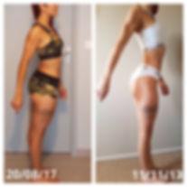 avant/après fitness musculation
