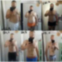 résultats perte de poids après régime CF7