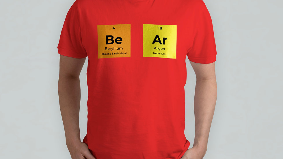 Be Ar Red T-Shirt