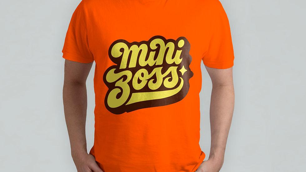 mini Boss Orange T-Shirt