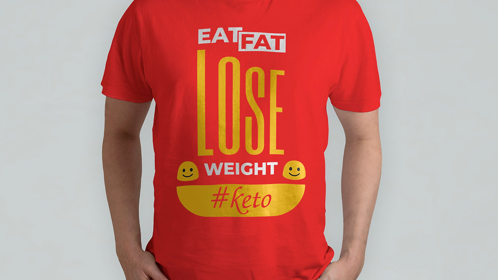 Lose Weight Keto Red T-Shirt