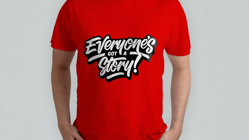 Everyone's Story Red T-Shirt