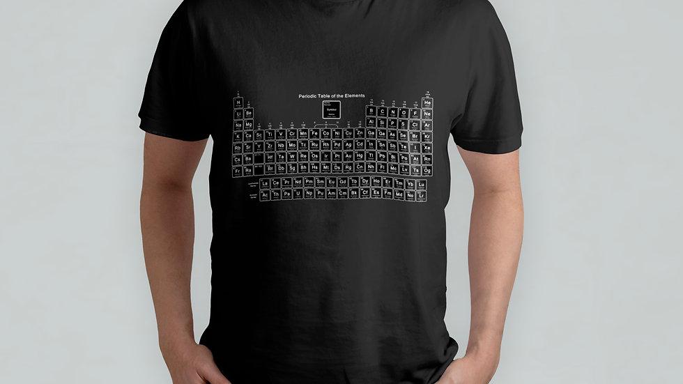 Periodic Table Black T-Shirt