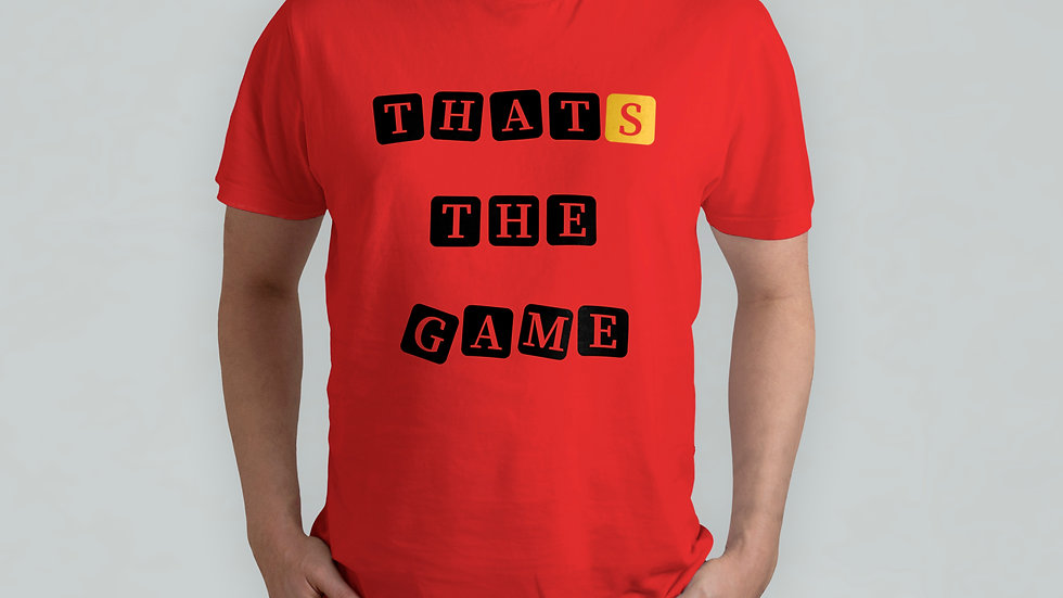 Thats The Game Red T-Shirt