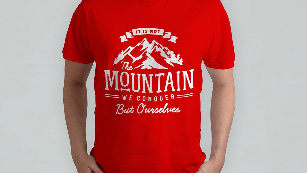 The Mountain Red T-Shirt