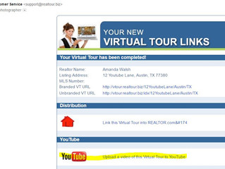 How to post your virtual tour to YouTube