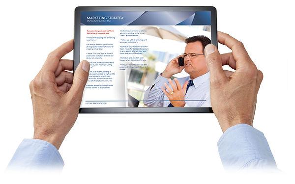 Digital listing presentations