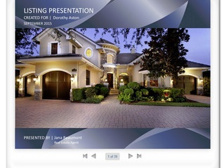 Customization Key to Successful Listing Presentations