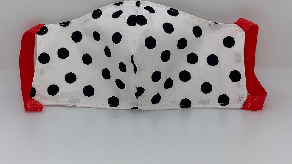 New! Black Polks Dots Style #2