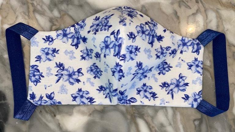 Lt. Blue Floral Style #2