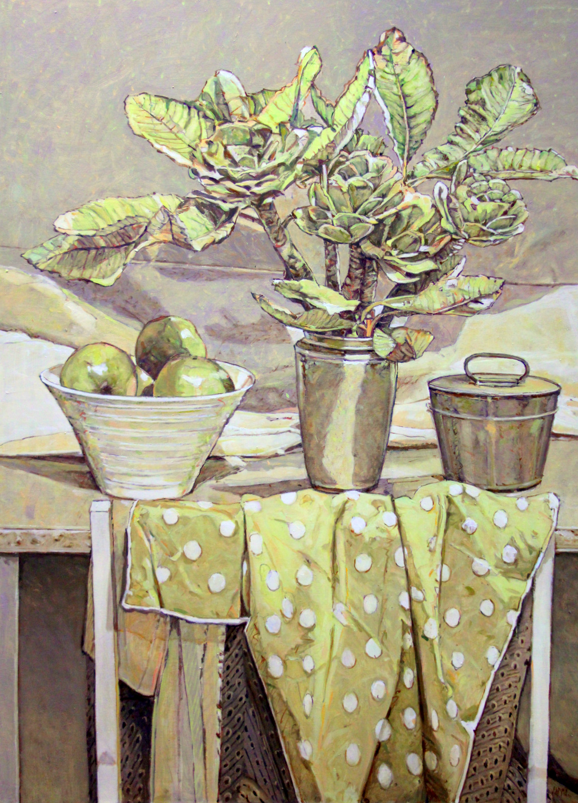 Still Life in Warm Grey