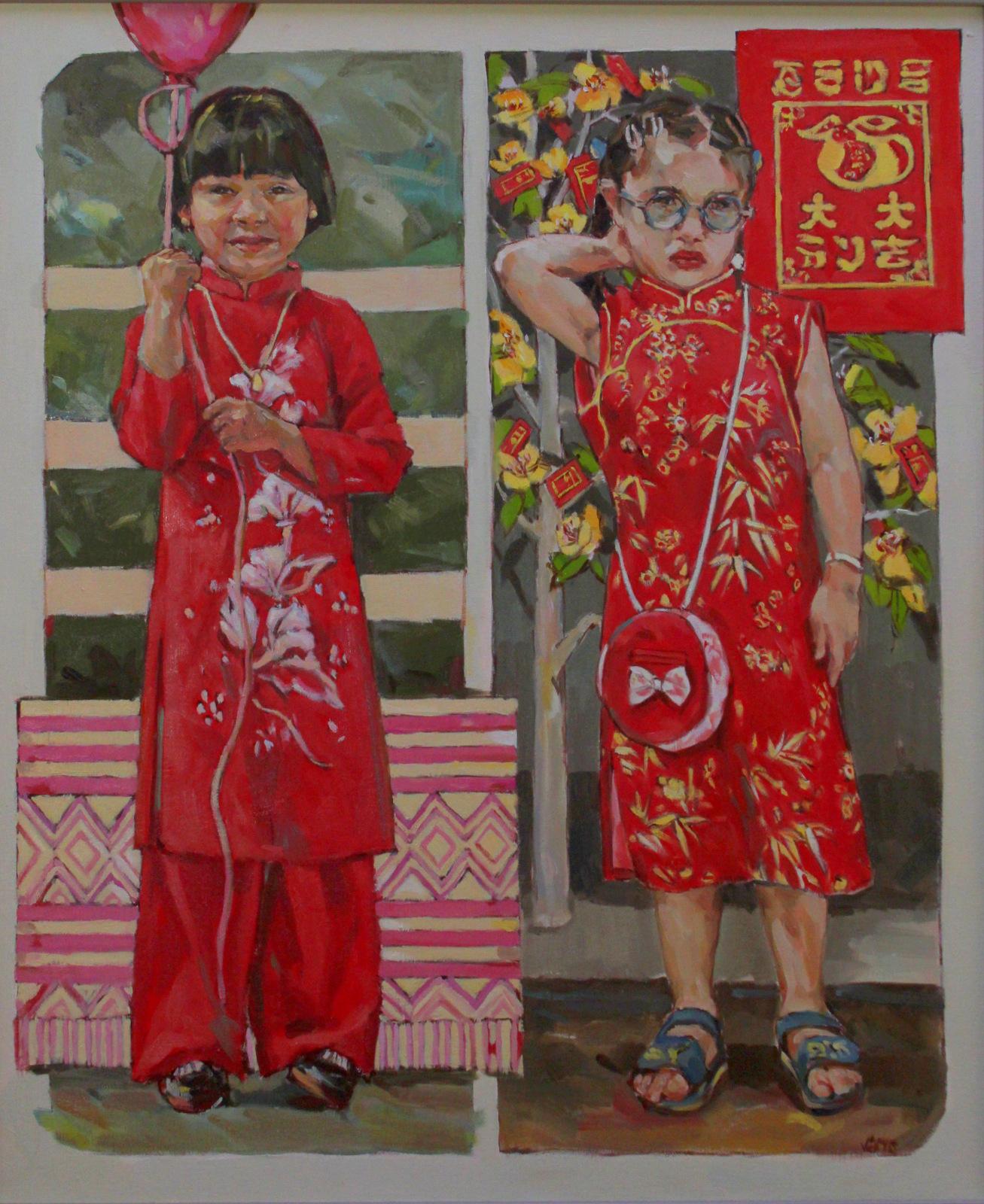 Cambodian Girl Chinese Girl