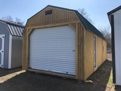 #9 12x28 Lofted Garage