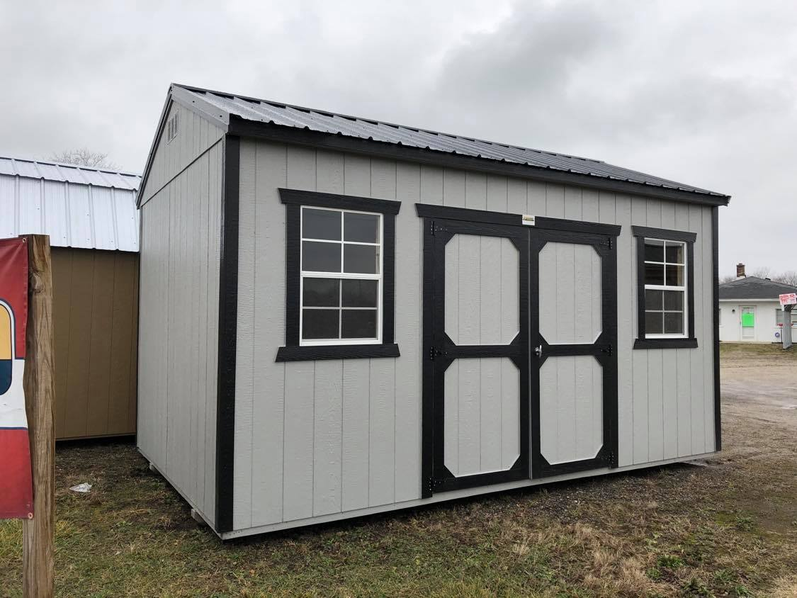 #12 10x16 Side Utility Shed