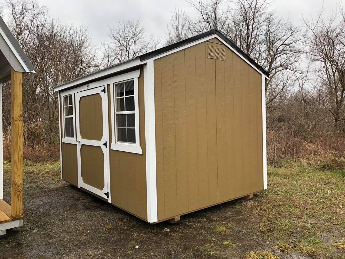 #13 8x12 Side Utility Shed