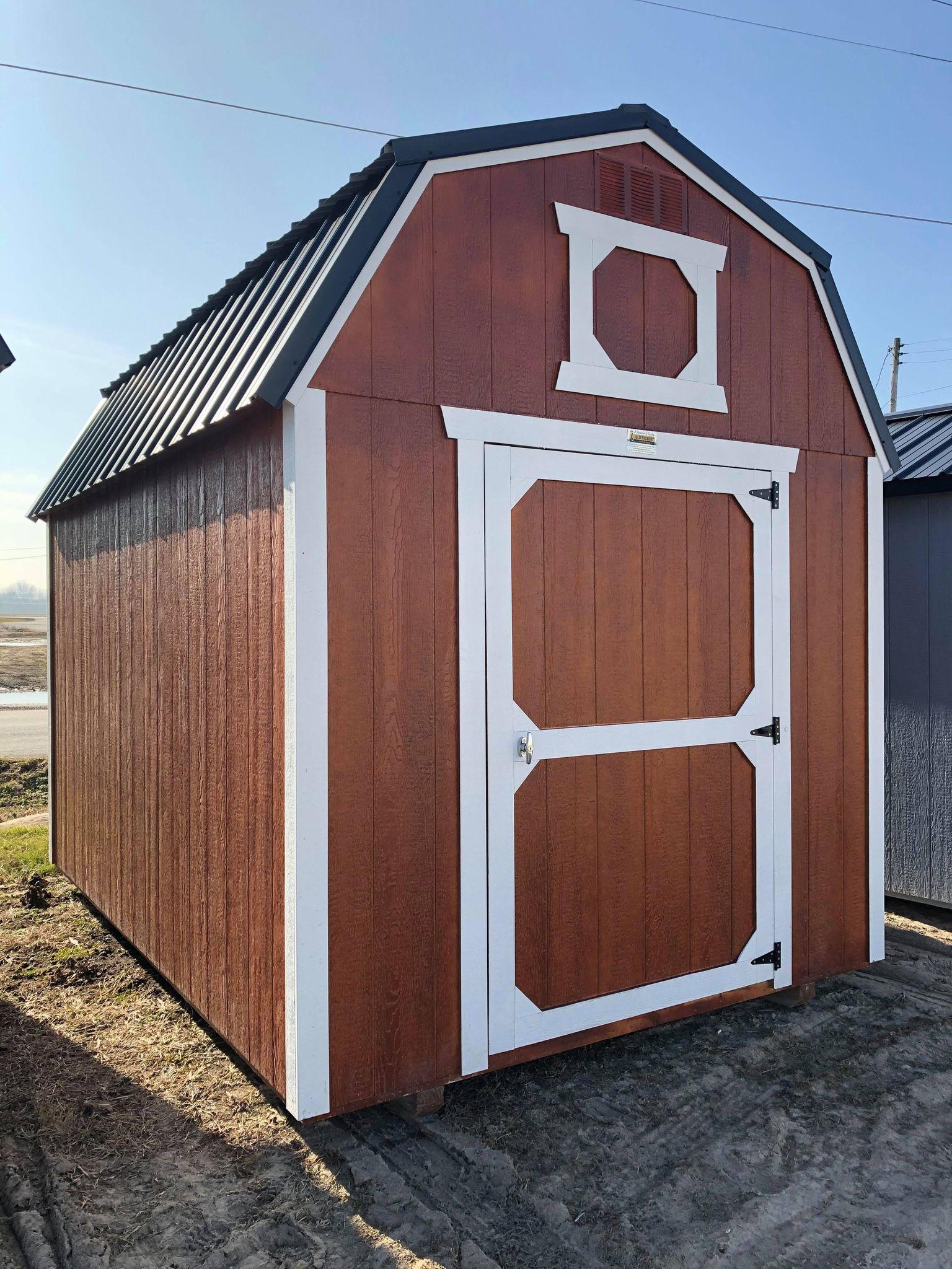 #18 8x12 Lofted Barn