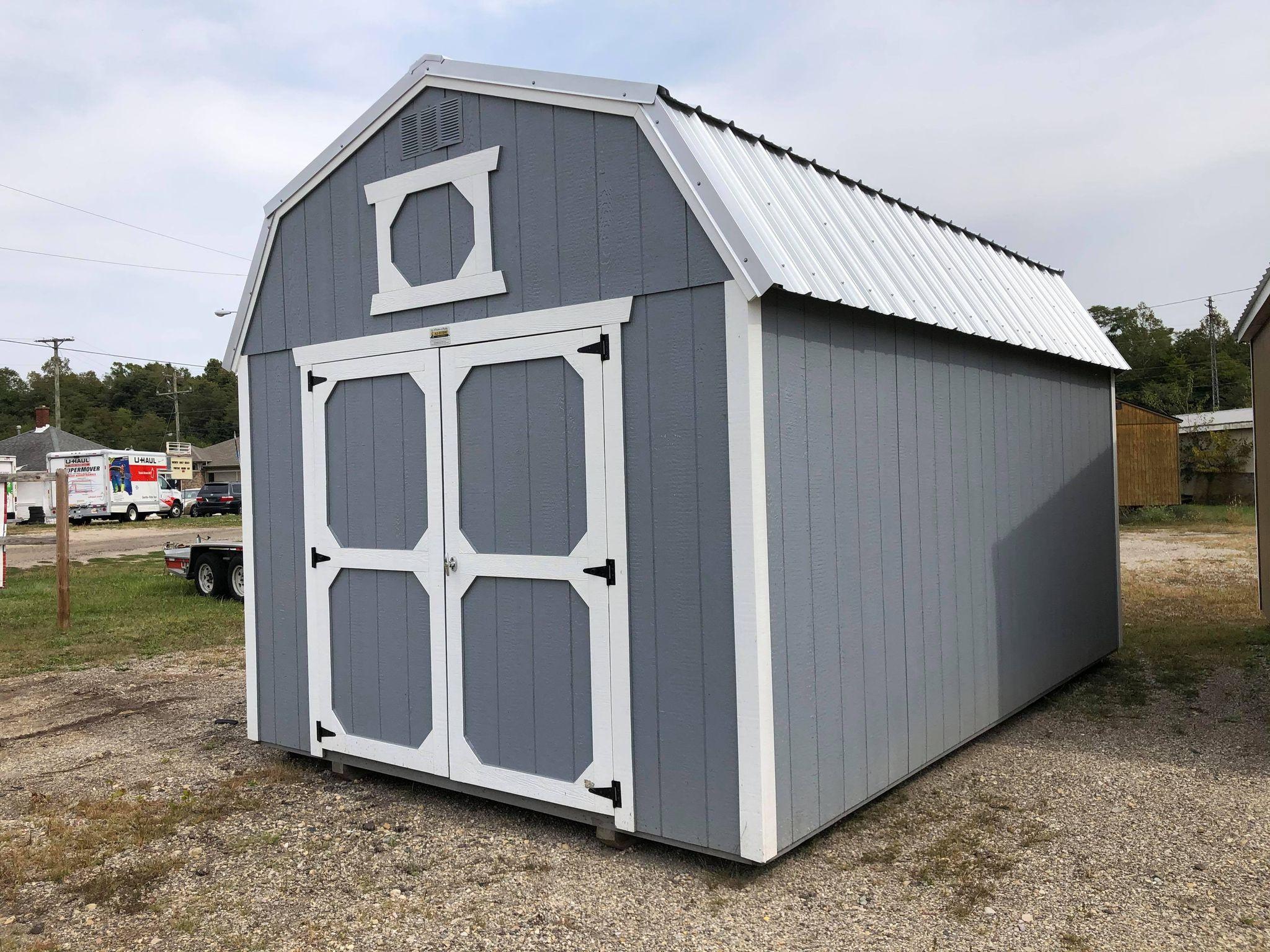 #2 10x16 Lofted Barn