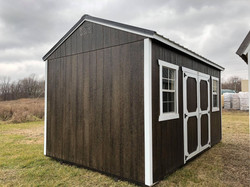 #6 10x16 Side Utility Shed