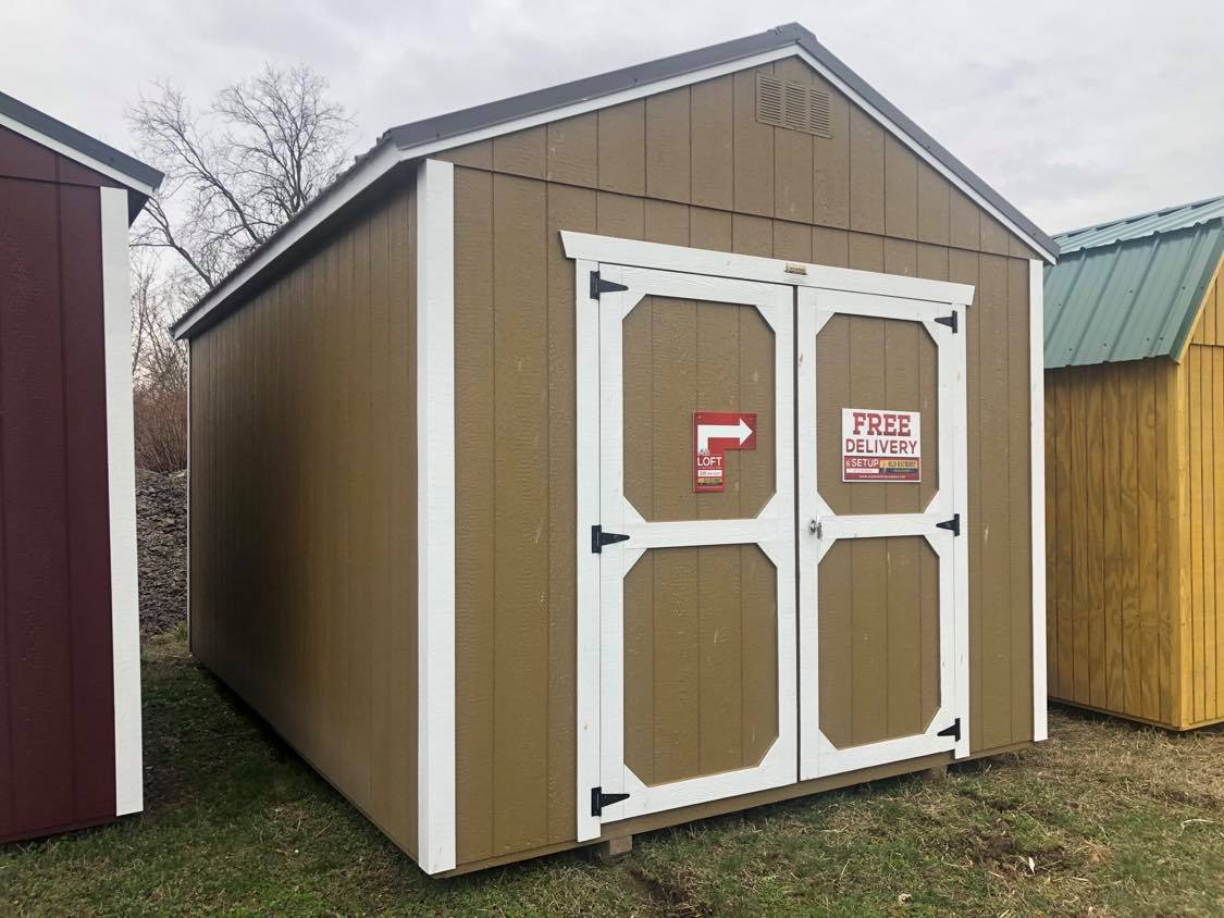 #31 10x16 Utility Shed