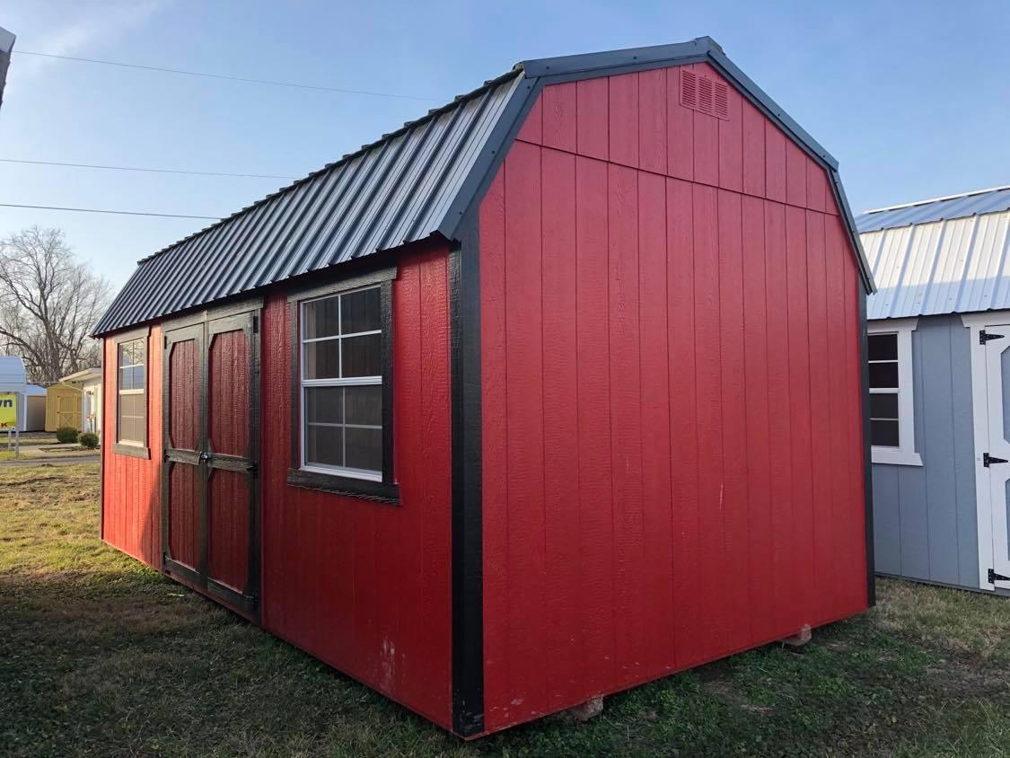 #29 10x20 Side Lofted Barn