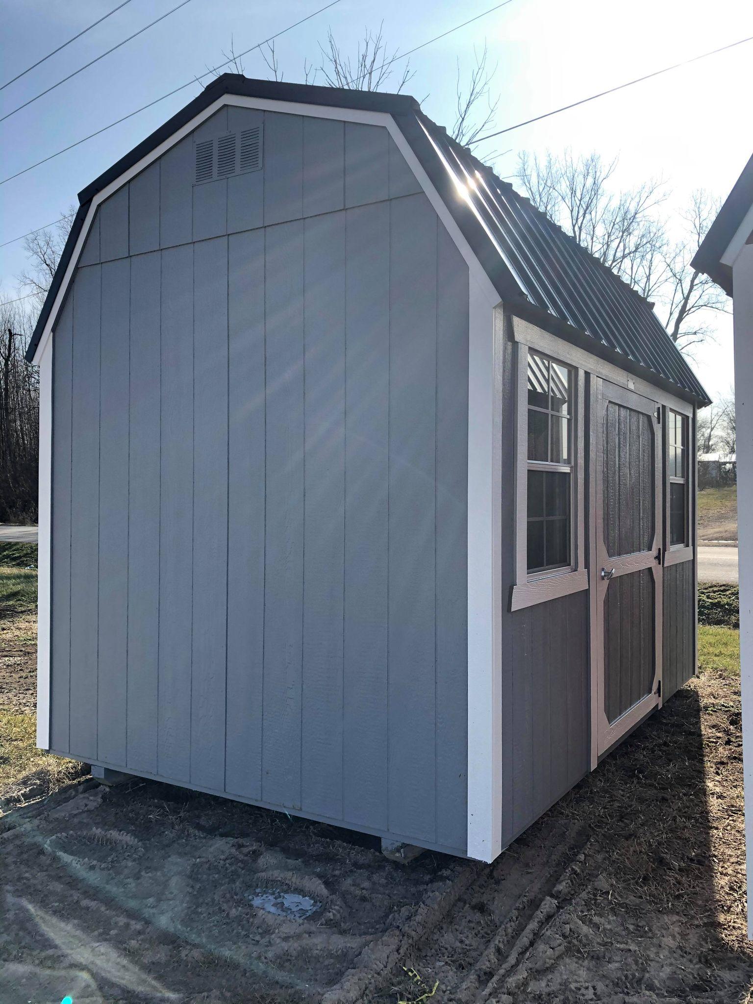 #19 8x12 Side Lofted Barn