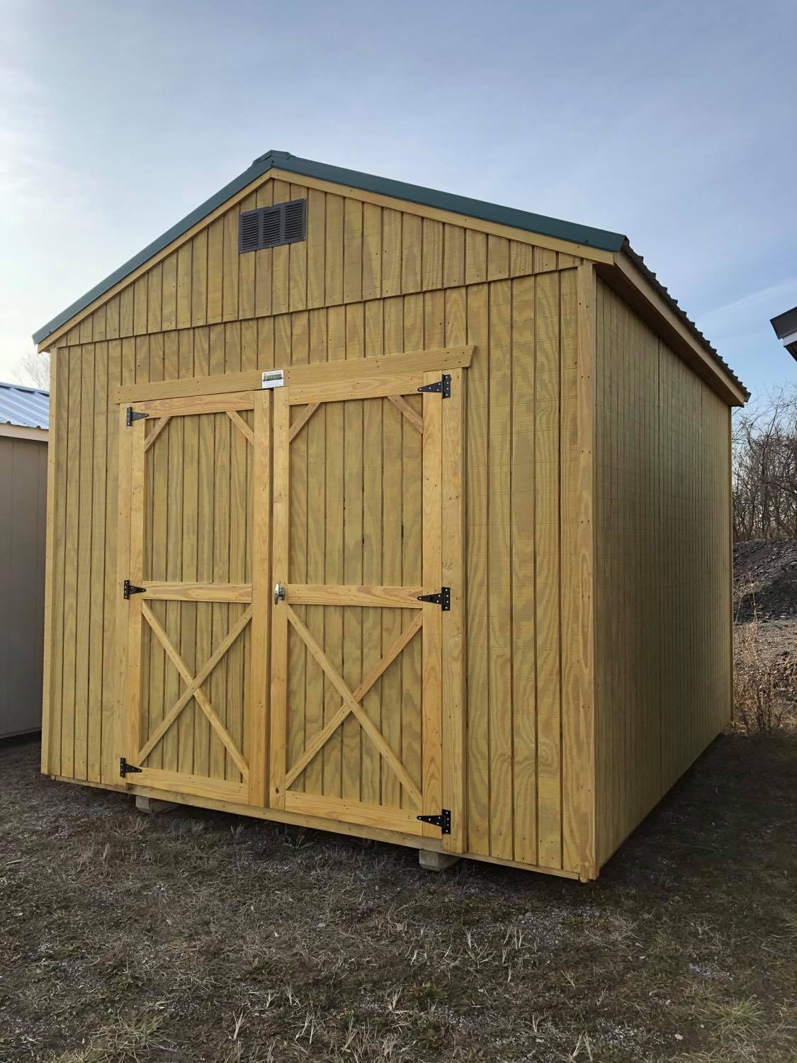 #24 10x12 Utility Shed