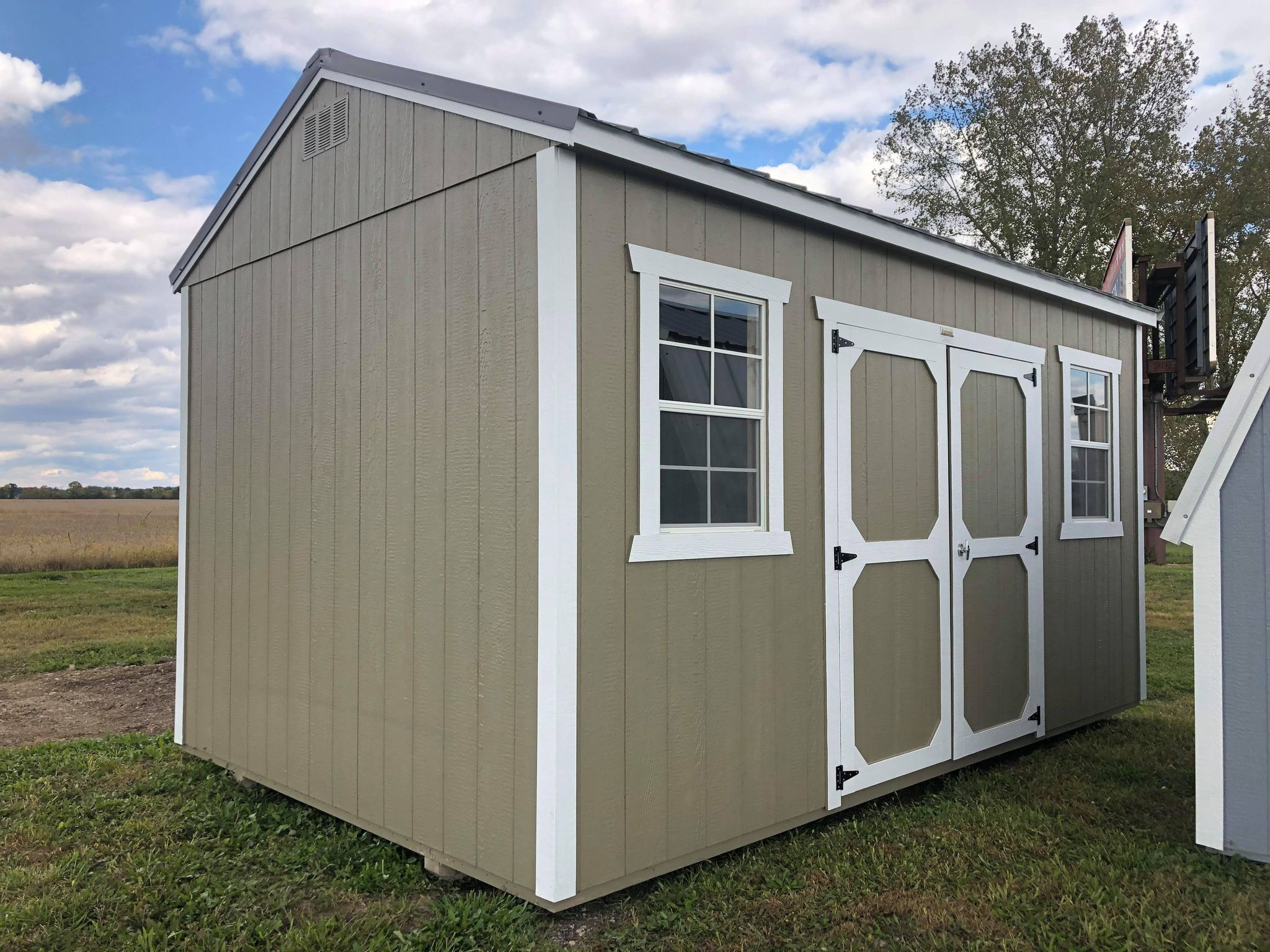 #5 10x16 Side Utility Shed