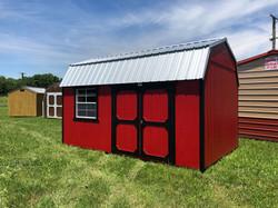 #1 10x16 Side Lofted Barn
