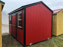 #40 8x12 Side Utility Shed
