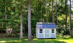 8x12 Side Lofted Barn