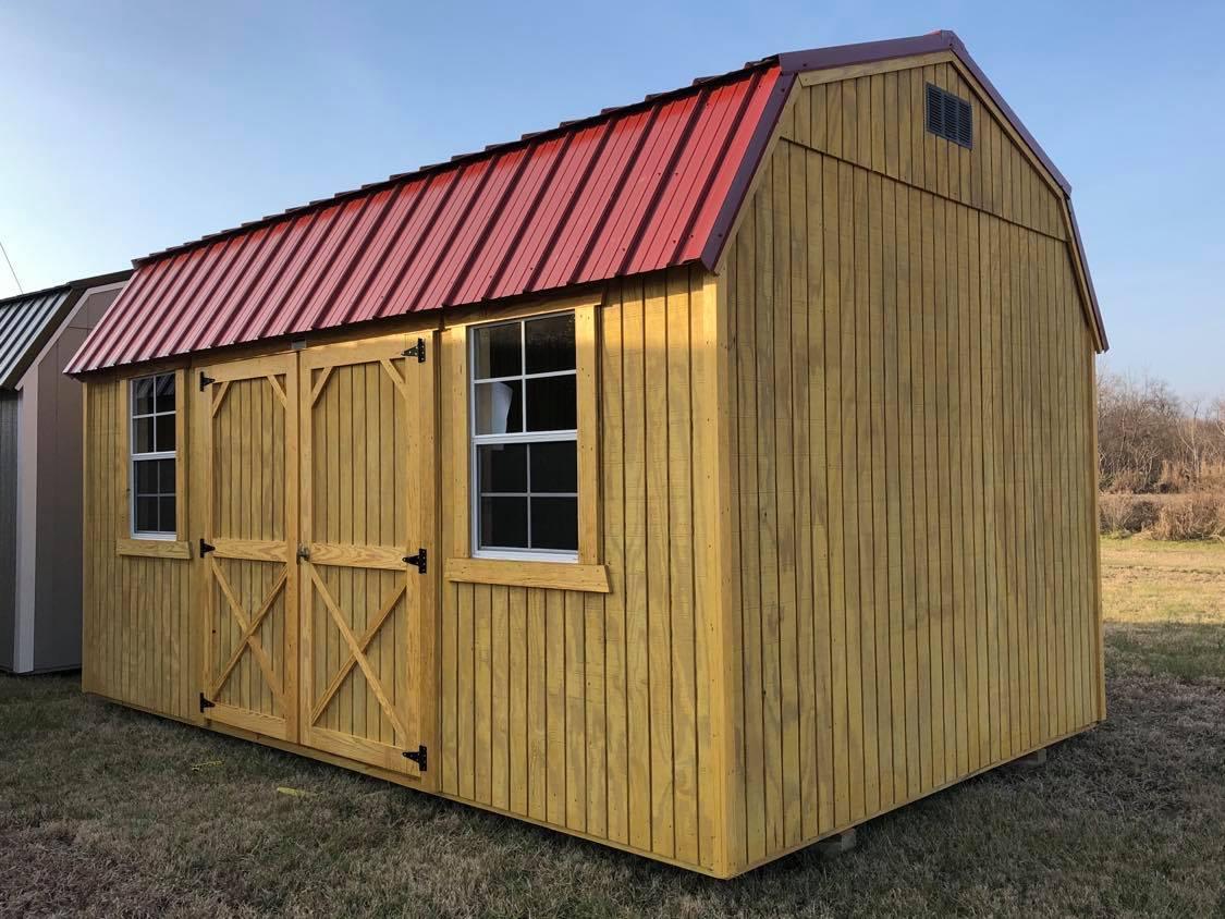 #32 10x16 Side Lofted Barn