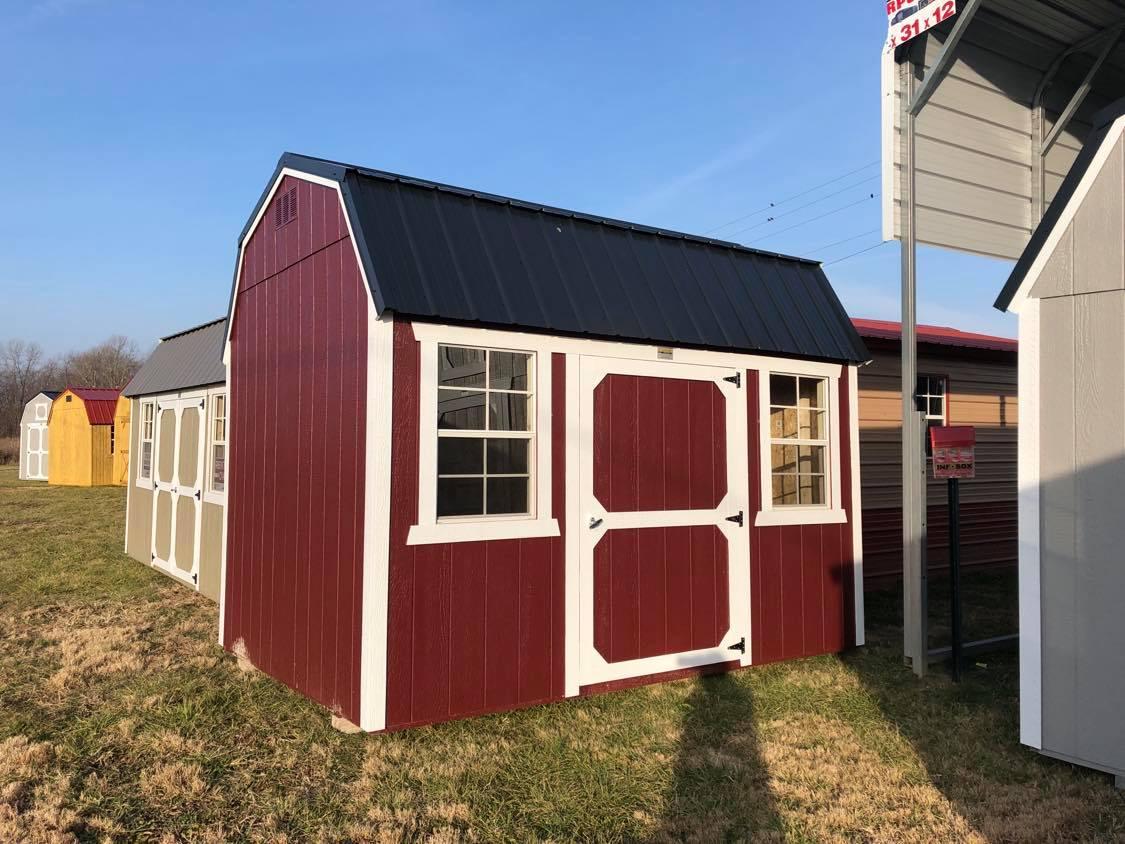 #28 8x12 Side Lofted Barn