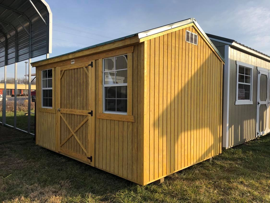 #27 8x12 Side Utility Shed