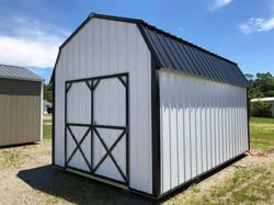 #4 10x16 Lofted Vertical Metal Barn