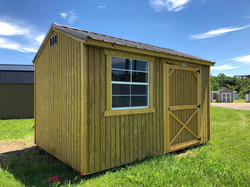 #2 8x12 Side Utility Shed