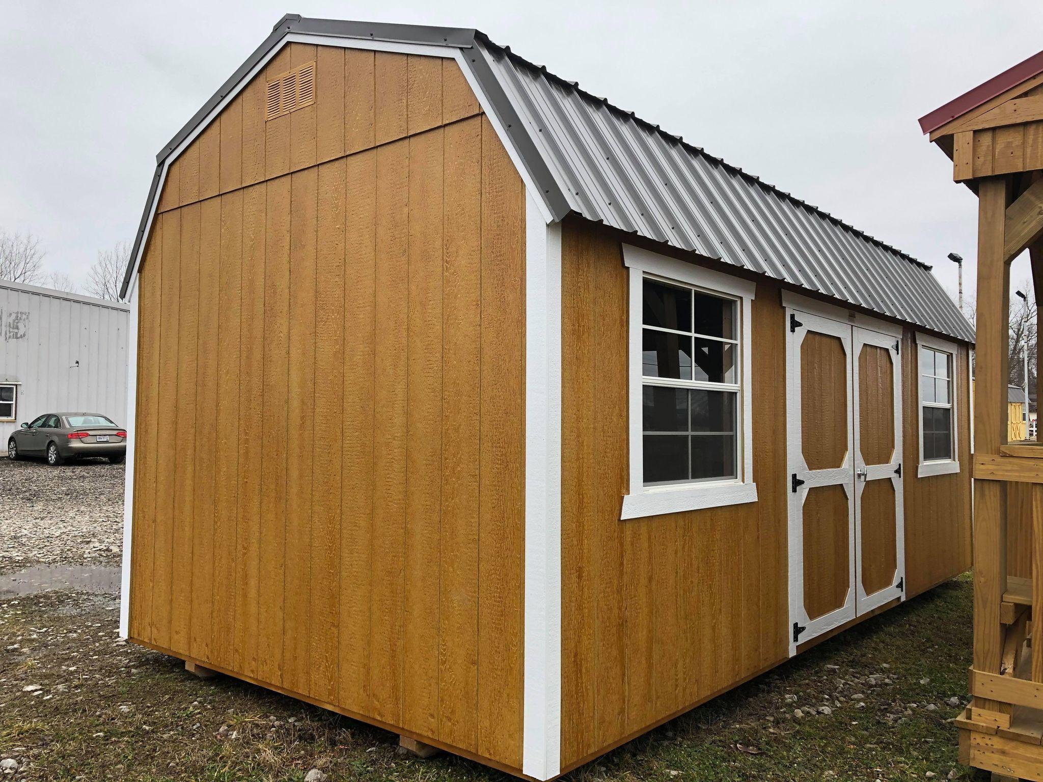 #17 10x20 Side Lofted Barn