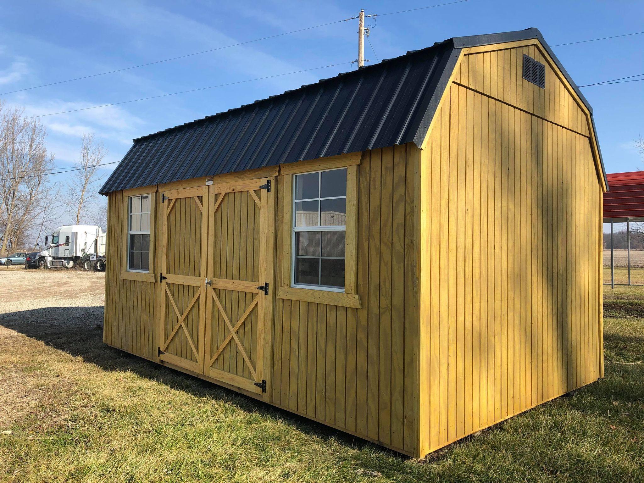#20 10x16 Side Lofted Barn